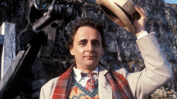 """The Seventh Doctor, starting in 1987, ended the original series of """"Doctor Who."""" Sylvester McCoy's take on the character returned him to the quirky mannerisms of the Second and Fourth Doctors, though this one was more of a schemer."""
