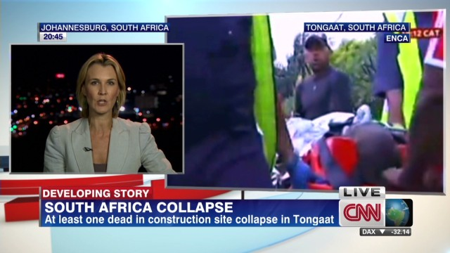 South Africa construction collapse