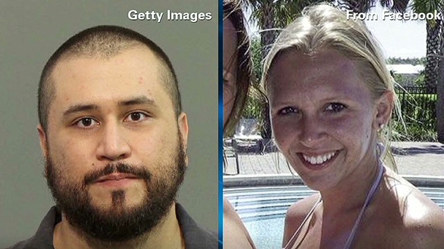 George Zimmerman's girlfriend, Samantha Scheibe, said in a court document that she didn't want him to be charged.