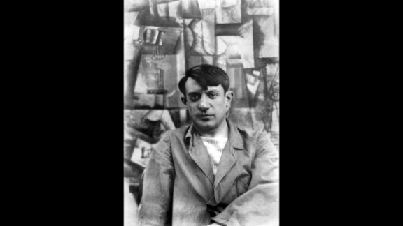 Spanish painter Pablo Picasso was also questioned by police after buying two stone statues from Apollinaire