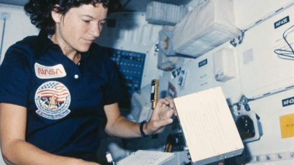"""As the first American female astronaut, Sally Ride, who died last year, was a role model to generations of young women, according to the White House. """"She advocated passionately for science education, stood up for racial and gender equality in the classroom, and taught students from every background that there are no limits to what they can accomplish,"""" the White House said."""