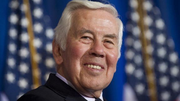 """Former Sen. Richard Lugar of Indiana is being honored for his 30 years of public service in Congress. Lugar, a Republican, """"is best known for his bipartisan leadership and decades-long commitment to reducing the threat of nuclear weapons,"""" according to the White House."""