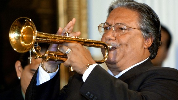 """Trumpeter Arturo Sandoval, who fled Cuba in 1990 and became an American citizen, is """"widely considered one of the greatest living jazz artists,"""" according to the White House."""