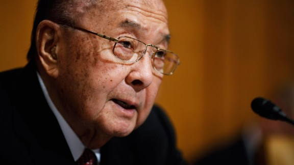 """The late Sen. Daniel Inouye of Hawaii, who died last year, was """"a lifelong public servant,"""" the White House said. """"Senator Inouye was the first Japanese American to serve in Congress, representing the people of Hawaii from the moment they joined the Union,"""" according to the White House."""