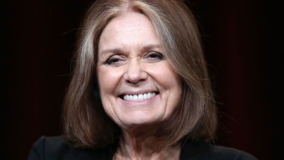 Gloria Steinem, co-founder of Ms. magazine and an advocate for women