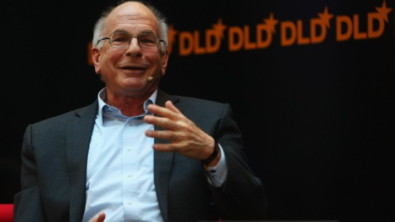 """Daniel Kahneman, a professor at Princeton University, won the Nobel Prize in economics in 2002 for his work in applying """"cognitive psychology to economic analysis,"""" the White House said."""