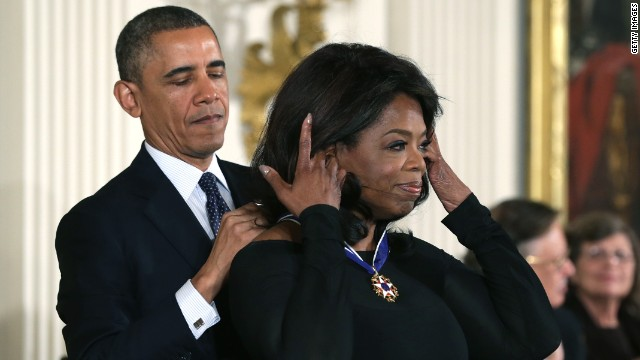Obama: People relate to 'Oprah' just fine