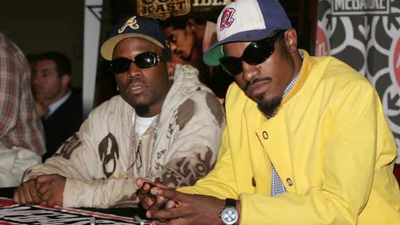 Big Boi (left) and André (right) launched the South into national music attention in the 1990