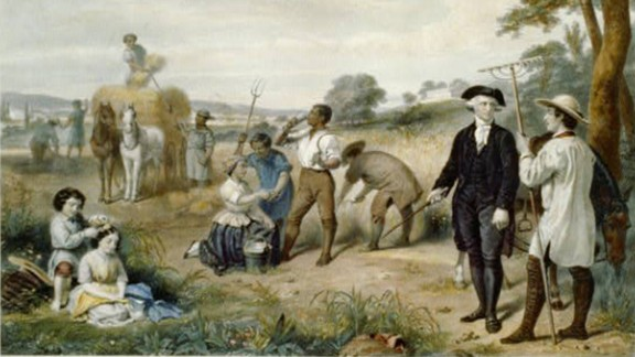 George Washington, the first US president, stayed active by leading a life of farming. He was also a horseman.