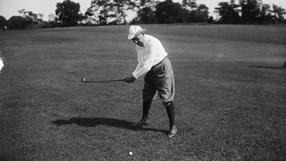 Warren G. Harding was an avid golfer. Golf courses in Los Angeles and San Francisco were named after him.