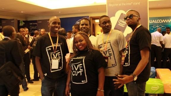 The Kola Studios team, from left to right: Daniel Okalany (Lead Programmer), Karungi Terry (Production Lead), Guy Acellam (Windows programmer), Onono Jasper (Engine Programmer), Anthony Mwebaze (Lawyer),