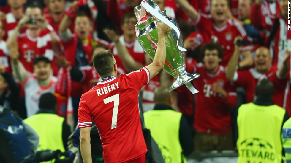 The haul of trophies won with Bayern Munich last season has made the Frenchman a leading contender. A league and cup double was followed by a stunning night at Wembley, when the Germans beat compatriots Borussia Dortmund in a thrilling Champions League final.