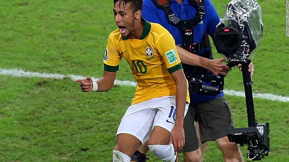 The Brazilian was the stand-out performer at this year's major international competition: the Confederations cup. Going into the event with constant questions about his ability, he started to answer them after just three minutes - firing home a beauty against Japan. Three more goals would follow, including one in the final as the hosts crushed world champions Spain 3-0. Has adjusted quickly to life at Barcelona in his first season of European football.