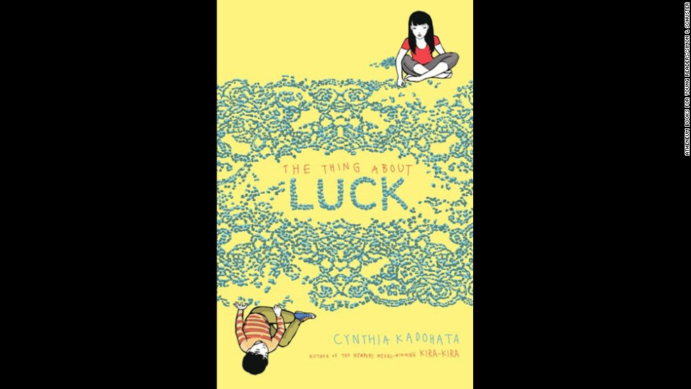 "<strong>Young people's literature (winner): </strong>Cynthia Kadohata, ""<a href=""http://www.nationalbook.org/nba2013_ypl_kadohata.html#.Uo1_kY2vWL0"" target=""_blank"">The Thing About Luck</a>"""