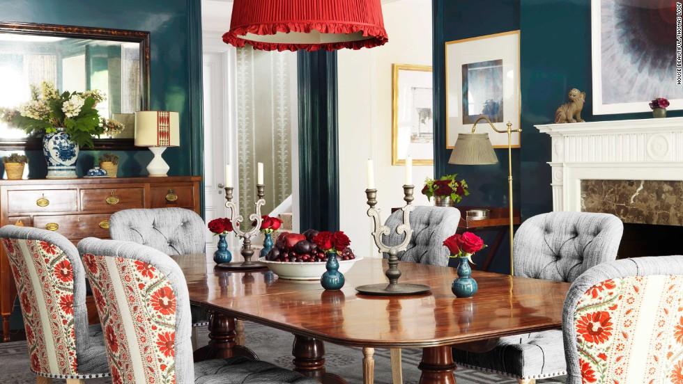 This Dining Room Decorated By Markham Roberts And Featured In The November 2013 Issue Of
