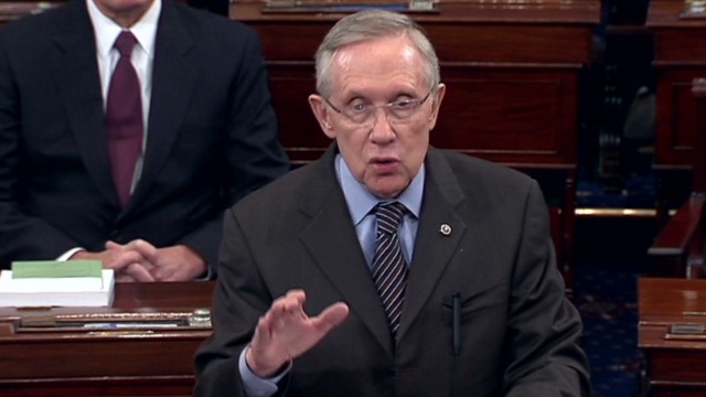 Reid: Americans fed up with gridlock