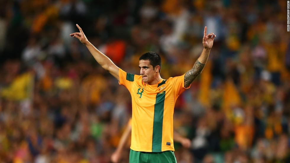 Tim Cahill needs one more goal to become Australia's top scorer. He currently has 29, leaving him level with Damian Mori.