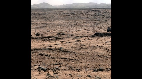A #nofilter image of the surface of Mars, courtesy NASA