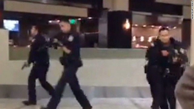 Unrelated incidents set off panic at LAX