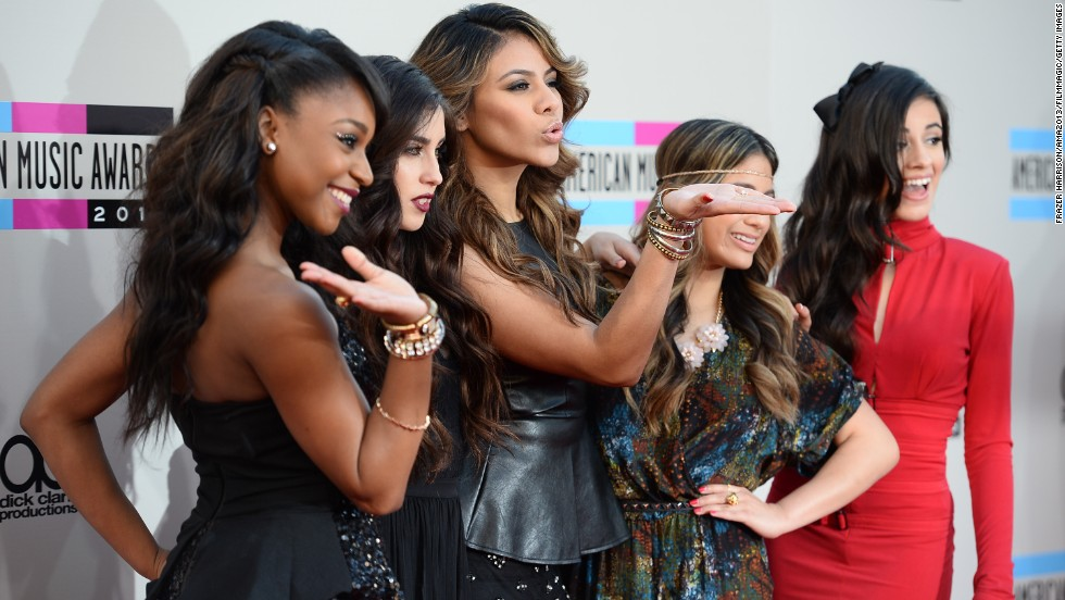 Normani Kordei, Lauren Jauregui, Dinah Jane Hansen, Ally Brooke and Camila Cabello of Fifth Harmony