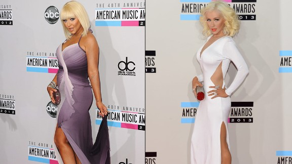 Christina Aguilera turned heads on the American Music Awards