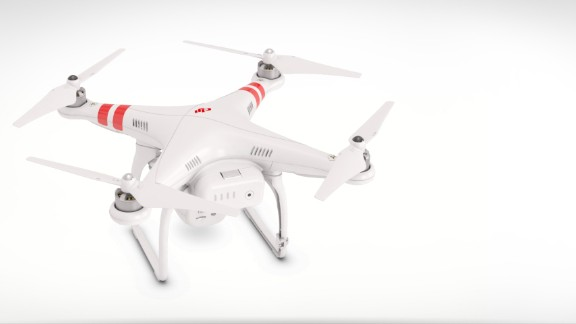 Hoping to go one better, DJI's flying machine boasts 1080p video (to Parrot's 720p) and a 14 megapixel still camera. The vehicle's controller clips to your smartphone, allowing the phone to act as an in-flight computer, showing the display from the Phantom, plus vital stats including air speed, altitude and flight distance. It's not cheap, though.  Price: Around $1,199