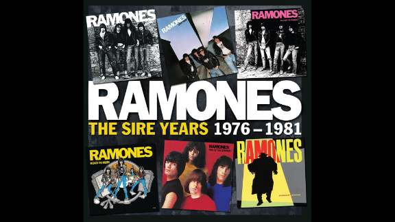 """If you want to be a punk about it ... the Ramones' first six albums have been packaged in a box, """"The Sire Years: 1976-1981."""" Here are the speedy songs that help launch the punk revolution, including """"Sheena Is a Punk Rocker,"""" """"Pinhead"""" and """"Teenage Lobotomy."""" (The band didn't put out a song longer than three minutes until their fourth record.) It was a heck of a run. (Rhino, $32.36 on Amazon)"""
