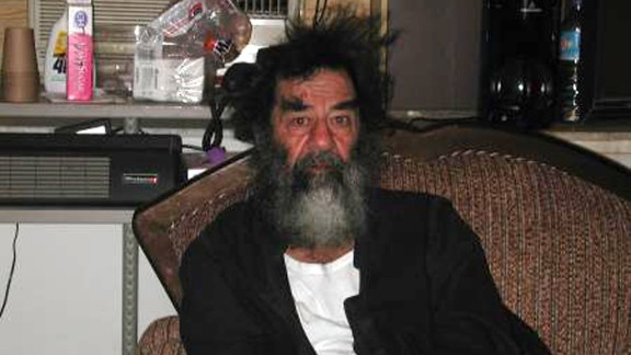 """Ten years ago on December 14, 2003, U.S. troops found former Iraqi President Saddam Hussein hiding in a farmhouse cellar, or """"spider hole,"""" in Adwar, Iraq. Hussein's capture eventually led to his conviction and hanging for a 1982 massacre in Dujail, Iraq."""