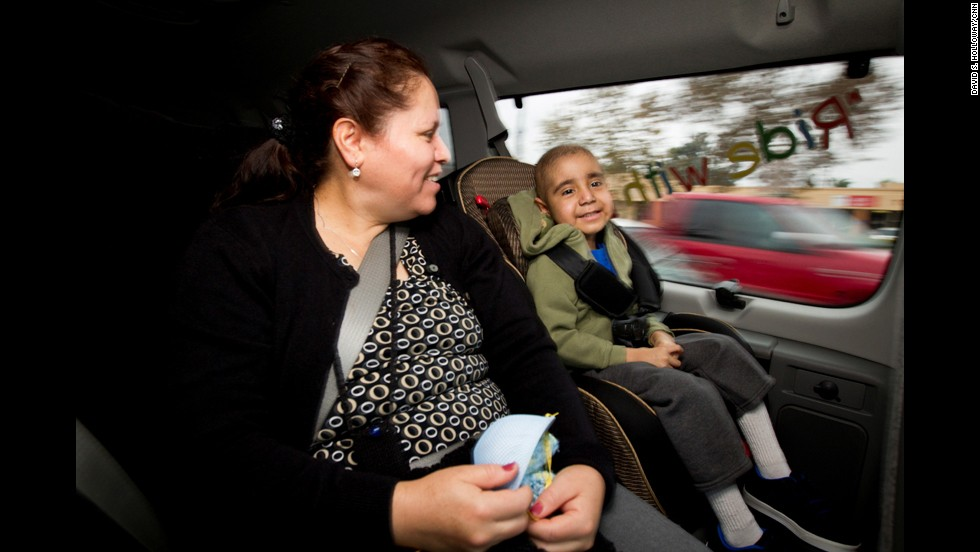 For many children fighting cancer, it can be extremely tough to make it to their chemotherapy appointments. They don't always have reliable, affordable transportation.