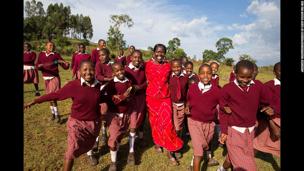 "CNN Hero Kakenya Ntaiya is inspiring change in her native Kenyan village. After becoming the first woman in the village to attend college in the United States, she returned to open the village's <a href=""http://www.cnn.com/2013/03/14/world/africa/cnnheroes-ntaiya-girls-school/index.html"">first primary school for girls</a>."