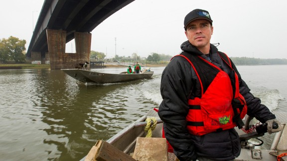 CNN Hero Chad Pregracke has made it his life's work to clean up the Mississippi River and other American waterways. Since 1998, about 70,000 volunteers have helped Pregracke remove more than 7 million pounds of garbage from 23 rivers across the country.