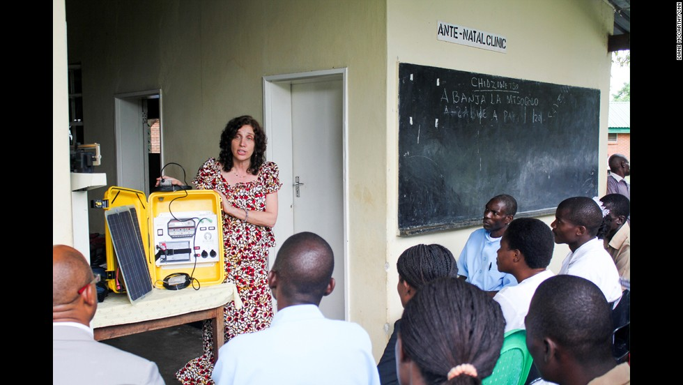 We Care Solar provides its solar suitcase, along with training and installation, to hospitals and clinics for free. Each solar suitcase costs $1,500, which the nonprofit funds through grants and support from partner organizations and sponsors.