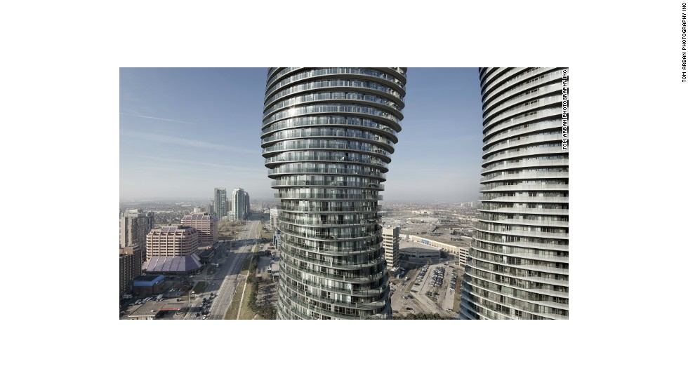Creators of the Absolute World Towers 1 & 2 in Mississauga, Canada, were not shy to admit the inspiration behind their design: Marilyn Monroe's shapely curves. The buildings, which were also nicknamed after the iconic actress, were voted the best skyscraper completed in 2012.