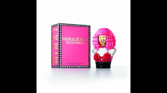 """If you want to smell """"Fly"""" ... try Minajesty by Nicki Minaj. These days, you haven't made it as a celebrity until you have your own fragrance, so Minaj has followed the sweet-smelling path of Lady Gaga (Fame), Katy Perry (Purr, Killer Queen) and Britney Spears (Curious, Fantasy). Minajesty is Minaj's second offering, after Pink Friday. The scent evokes """"luscious fruits and luxurious fresh florals, draped in creamy vanilla and pure musk,"""" according to its website. (Available at department stores and online)"""