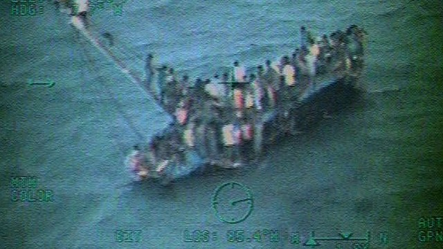 Dozens dead in migrant boat collapse