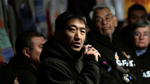 Dae Jae Yong is fasting with Fast for Families, a group asking Speaker John Boehner to set a vote for an immigration bill.