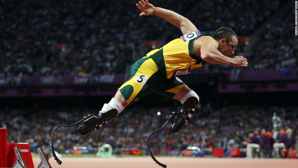 "In August 2013, the world was left stunned by the news that Oscar Pistorius had been charged with premeditated murder in the death of his girlfriend, Reeva Steenkamp. The ''Blade Runner"" will go on trial in March 2014 in his native South Africa.<br />"