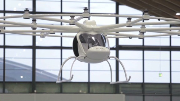 The Volocopter, one of the world