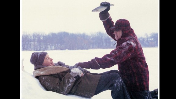 """Although the two main characters in """"Grumpy Old Men"""" (played by Jack Lemmon and Walter Matthau) spend their holiday with family, they both really want to spend it with the new woman in town (Ann-Margret). On Thanksgiving night, a mutual friend of theirs arrives at the woman's door, leaving both grumpy old men jealous and bitter."""