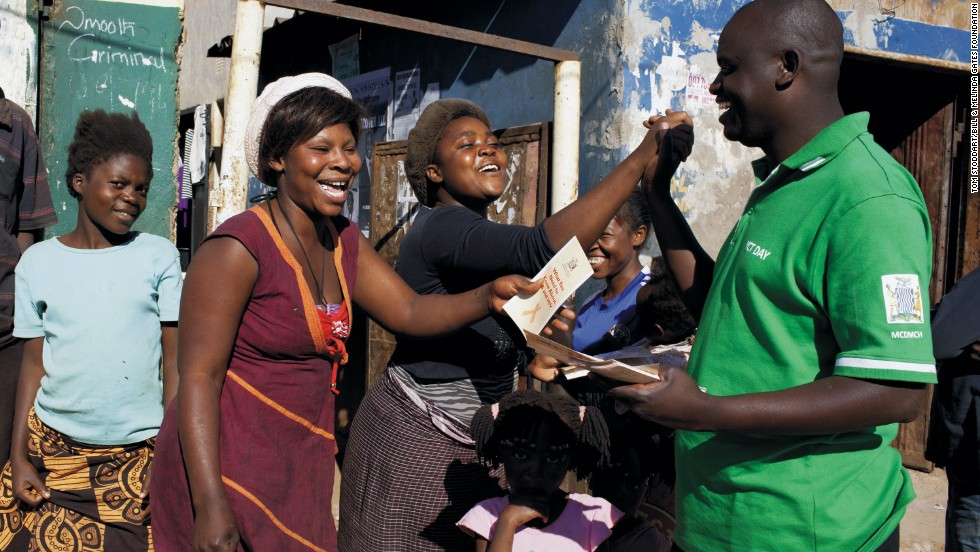 Health workers are getting ahead of the AIDS epidemic by teaching people about safer sex and encouraging them to get tested for HIV. Counselor Leonard Haamunga, 37, runs a successful outreach program in Zambia.