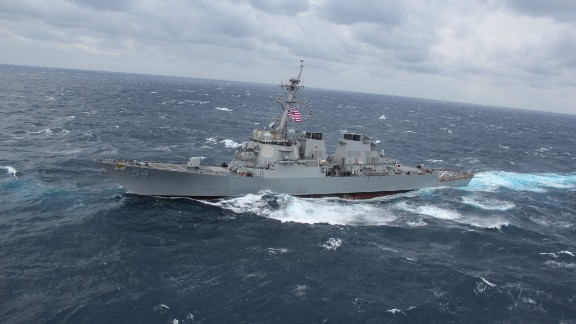The U.S. contingent also includes guided missile cruisers and guided missile destroyers.