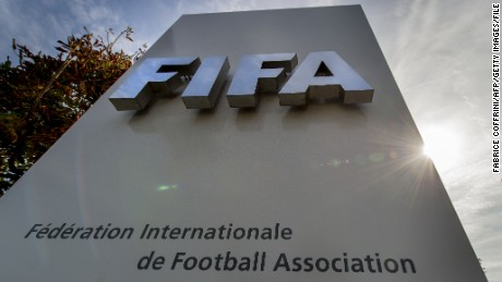 U.S. to charge FIFA officials with corruption