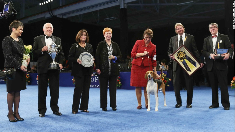 Jewel is the first winner in the 12-year history of the show to come from the hound group.