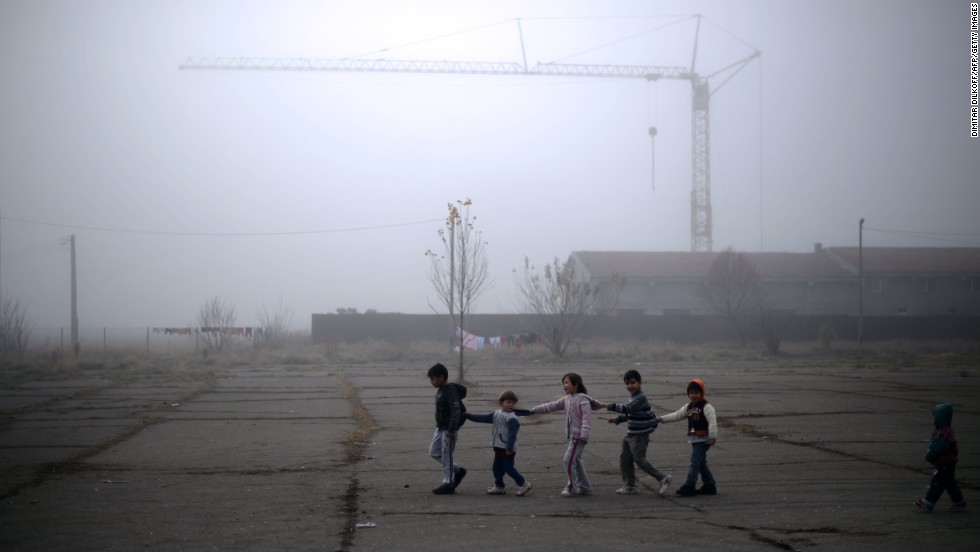 "NOVEMBER 29 - SOFIA, BULGARIA: Syrian refugee children play at the recently opened Vrazhdebna shelter in Sofia. A new report released today says <a href=""http://edition.cnn.com/2013/11/29/world/meast/syria-children-refugees-report/index.html?hpt=hp_t3"">1.1 million Syrian refugees are children</a>. Most of them live in neighboring countries, with no access to education. <a href=""http://www.cnn.com/2013/09/06/world/iyw-how-to-help-syrian-refugees/"">Here's how you can help the children on Syria.</a>"