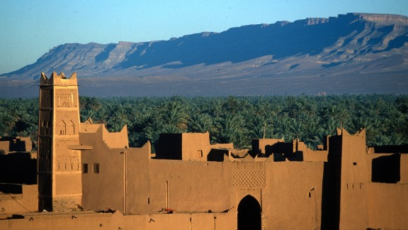 """Morocco's Ouarzazate region is famed for its rose growing industry, and is home to the annual """"Festival of Roses."""""""