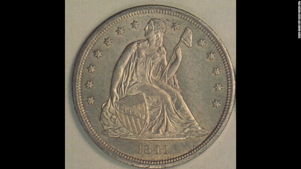 "The ""Seated Liberty"" silver dollar was first produced in 1836 and ceased being made five years after the Statue of Liberty was installed in New York Harbor in 1891, according to the U.S. Mint."