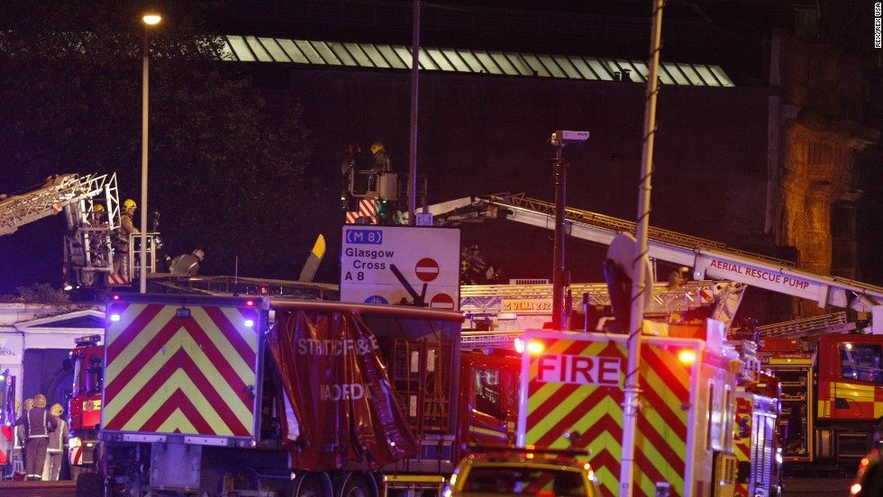 "A spokesman for the Scottish Ambulance Service said there were ""multiple ambulances and a special operations team on site."""