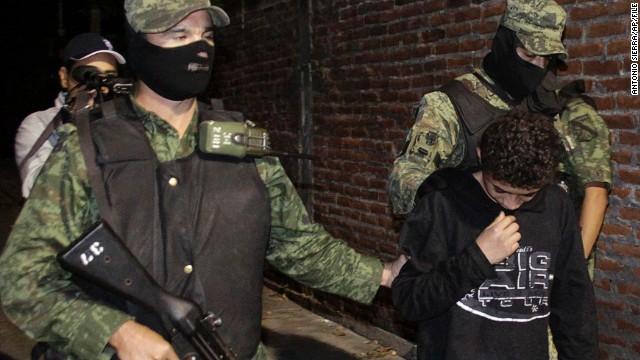 Teen cartel hit man living free in U S