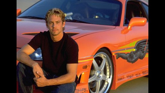 """Walker appeared in 2001's """"The Fast and the Furious,"""" the first movie in the franchise."""