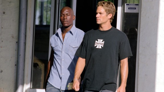 """Tyrese Gibson took over for Diesel opposite Walker in 2003's """"2 Fast 2 Furious."""""""